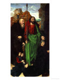 Tommaso Portinari and His Two Sons Giclee Print by Hugo van der Goes