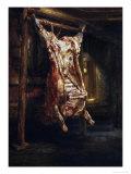 The Slaughtered Ox, 1655 Giclée-tryk af  Rembrandt van Rijn