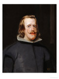 King Philip IV of Spain (1605-1665), Painted 1655-1660 Giclee Print by Diego Velázquez