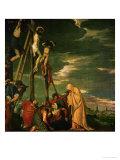 Calvary (fresco) Giclée-Druck von Paolo Veronese