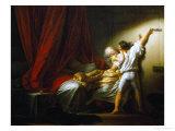 The Bolt Giclée-tryk af Jean-Honoré Fragonard
