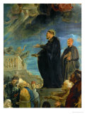 The Miracle of Saint Francis Xavier, Detail, 1617 Giclee Print by Peter Paul Rubens
