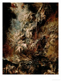 The Fall of the Damned Reproduction proc&#233;d&#233; gicl&#233;e par Peter Paul Rubens