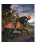 Emperor Charles V at the Battle of Muehlberg Giclee Print by  Titian (Tiziano Vecelli)