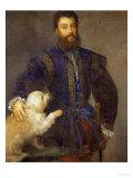 Federigo Gonzaga, 1st Duke of Mantua (1500-1540) Giclee Print by  Titian (Tiziano Vecelli)