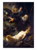The Sacrifice of Isaac, 1635 Giclee Print by Rembrandt van Rijn 