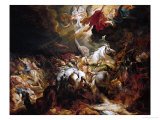 The Defeat of Sanherib, King of Assur Giclee Print by Peter Paul Rubens