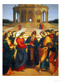 Marriage of the Virgin, 1504 Reproduction procédé giclée par Raphael