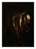 Saint Joseph the Carpenter, 1642 Giclee Print by Georges de La Tour