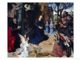 The Adoration of the Shepherds, 1476 Giclee Print by Hugo van der Goes