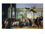 Jesus Heals the Paralytic in Bethesda Giclee Print by Giovanni Battista Tiepolo