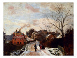 Fox Hill, Upper Norwoor, London Giclee Print by Camille Pissarro