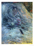 Camille Monet (1847-1879), First Wife of the Painter, on Her Deathbed, 1879 Giclee Print by Claude Monet