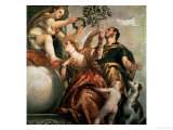 Allegory of Love: The Happy Union, Around 1570 Giclee Print by Paolo Veronese