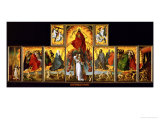 Altar of the Last Judgment: Overall View Lámina giclée por Rogier van der Weyden