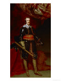 Philip IV of Spain (1621-1665), Praying Giclee Print by Diego Velázquez