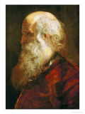 Study of an Old Man, circa 1610 Giclee Print by Peter Paul Rubens
