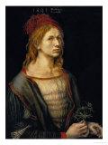 Self-Portrait, 1493 Giclée-tryk af Albrecht Dürer