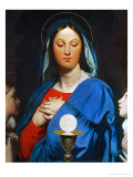 The Virgin with the Eucharist, 1866 Giclee Print by Jean-Auguste-Dominique Ingres