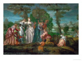 Moses Saved from the Waters Giclee Print by Paolo Veronese