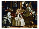 Las Meninas (The Maids of Honour), Detail Gicléedruk van Diego Velázquez