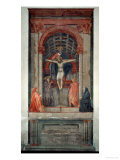 Trinita, 1427, Fresco Giclee Print by  Masaccio