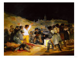 The Third of May, 1808, Painted in 1814 Reproduction procédé giclée par Francisco de Goya