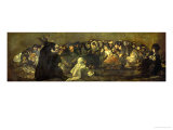 Witches' Sabbath (Acquelarre) Giclee Print by Francisco de Goya