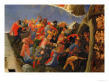 The Damned Giclee Print by  Fra Angelico