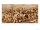 Henry IV (1553-1610) in the Battle of Ivry Giclee Print by Peter Paul Rubens
