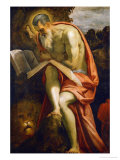 Saint Jerome, 1571-1575 Giclee Print by Jacopo Robusti Tintoretto