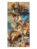 Jupiter Punishing the Vices, Painted Between 1553-1556 Giclee Print by Paolo Veronese