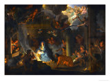 The Adoration of the Shepherds, 1689 Giclee Print by Charles Le Brun
