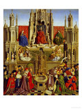 School Of: The Fountain of Grace and the Triumph of the Church Over the Synagogue Giclee Print by  Jan van Eyck