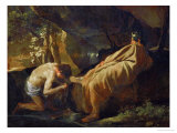 Midas at the Source of the River Pactole, circa 1626-1627 Giclee Print by Nicolas Poussin