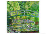Waterlily Pond, Green Harmony, 1899 Lámina giclée por Claude Monet