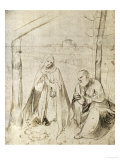 The Adoration of the Child Giclee Print by  Titian (Tiziano Vecelli)