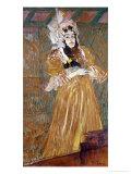 Miss May Belfort, Entertainer, 1895 Lámina giclée por Henri de Toulouse-Lautrec