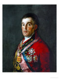 Duke of Wellington, 1769-1852 Giclee Print by Francisco de Goya