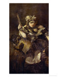 Judith and Holofernes, A Black Painting from the Quinta Del Sordo, Goya's Hourse, 1819-1823 Giclee Print by Francisco de Goya
