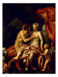 Venus and Adonis, circa 1580 Giclee Print by Paolo Veronese