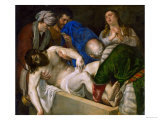 Entombment of Christ Giclee Print by  Titian (Tiziano Vecelli)