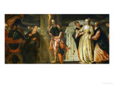 Esther Before Ahasuerus Giclee Print by Paolo Veronese
