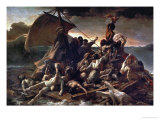 The Raft of the Medusa, 1819 Reproduction procédé giclée par Théodore Géricault