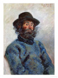 Portrait of Poly (Francois Guillaume) Giclee Print by Claude Monet