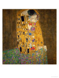 The Kiss, 1907-1908 Gicléedruk van Gustav Klimt