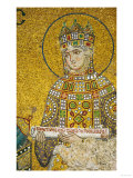 Empress Zoe (1028-1050) Holding the Deed from the Endowment of the Church Giclee Print