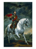Charles V on Horseback, 1620 () Giclee Print by Sir Anthony Van Dyck