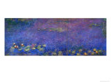 Waterlilies Giclee Print by Claude Monet