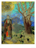 The Buddha, 1906-1907 Lmina gicle por Odilon Redon